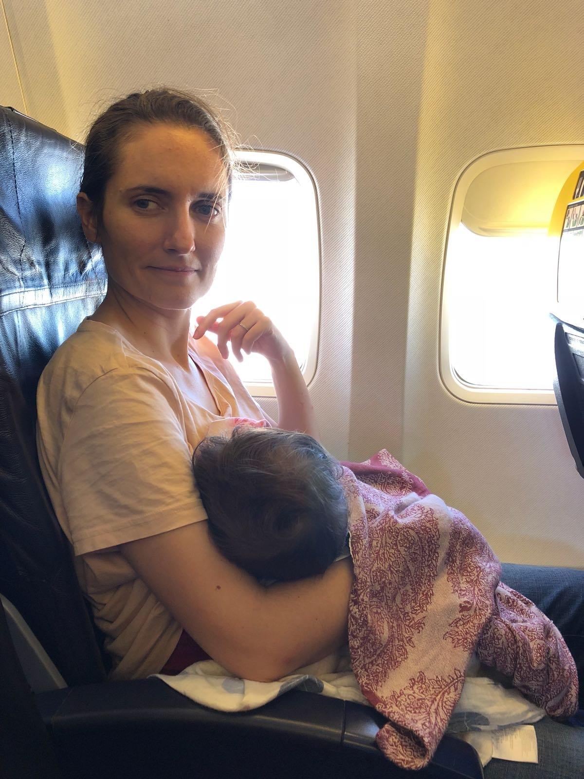 Coger un vuelo con un bebé con Ryanair